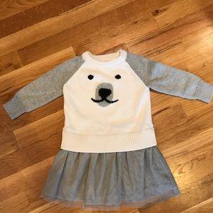 GAP sweater dress 18-24m